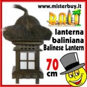 LANTERNA BALINIANA ORIGINALE INDONESIANA 70 CM