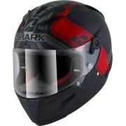 Shark Race-R Pro Replica Zarco GP DE France Casco Negro Rojo S