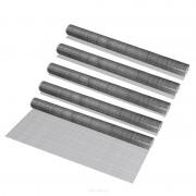 [pro.tec]® 5 rollos de malla de alambre (cuadrados)(1m x 5m)(galvanizado) valla de tela metálica cerca