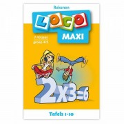 Lobbes Maxi Loco - Tafels 1 - 10 (7-10)