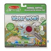 Melissa & Doug Kreatív játék Rajzolás vízzel deluxe állati bohócságok