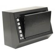 Homak Caja de Pistola de Acceso electrónico para Primer Reloj, 13.97 cm, Negro Liso