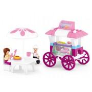 Stavebnice Sluban Girls Dream Pojízdné občerstvení M38-B0522