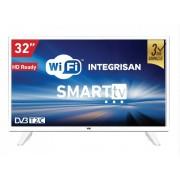 """Televizor TV 32"""" Smart LED VOX 32DSW472W, 1366x768 (HD Ready), WiFi, HDMI, USB, T2, beli"""