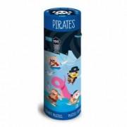 Puzzle 100 piese cu carte - Pirati
