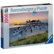 Пъзел от 1000 части - Изгрев на плажа, Ravensburger, 702001