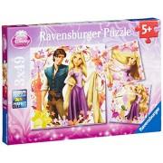 Ravensburger Disney Rapunzel 3 x 49 Piece Puzzles