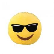 Out of the blue Emoji Plüschkissen Cool
