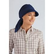 Šátek s kšiltem Oleander Barva: Tmavomodrá