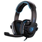 Blue SADES SA-901 7.1 Surround Stereo USB Headband Headphone Headset with Microphone