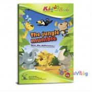 Különbségkeresés foglalkoztató füzet Kiddo Books