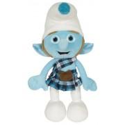 """Movie The Smurfs 13.5"""" Plush Figure Doll Gutsy Smurf"""