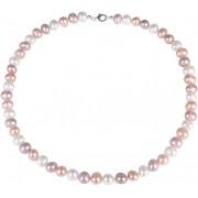 JwL Luxury Pearls Multibarevný náhrdelník z pravých perel JL0568