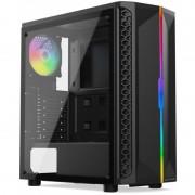 Carcasa Silentium PC Signum SG1Q TG RGB Black