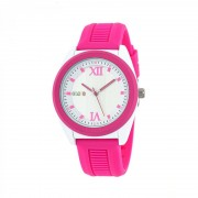 Crayo Praise Quartz Watch - Hot Pink/White CRACR3602
