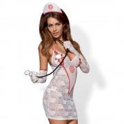 Obsessive - Nővérke jelmez szett - fehér