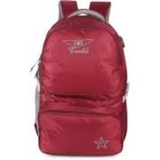 TRUNKIT School Bag ll Laptop Bag II Multipurpose bag II 2009-10-1 Waterproof School Bag(Maroon, 30 L)