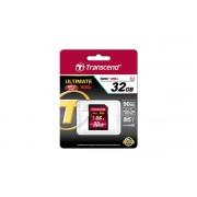 Card memorie Transcend SDHC 32GB Class 10 UHS-I U1 - TS32GSDHC10U1