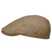 Göttmann Jackson Schirmmütze mit UV-Schutz aus Leinen, Braun (23) 55 cm