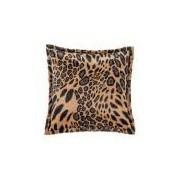Almofada Quadrada Decorativa Estampa Safari Leopardo 44cm