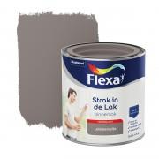 Flexa Strak in de lak voor binnen leisteengrijs hoogglans 250 ml