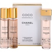 Chanel Coco Mademoiselle Eau de Toilette para mulheres 3x20 ml (3 x recarga)