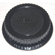 Rear Lens Cap Cover for Canon EF EF-S Lens (Black)