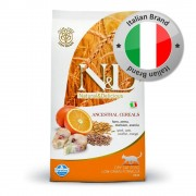 N&D Low Grain Cat Farmina N&D Low Grain Adult Cat Merluzzo e Arancia - 2 x 5 kg