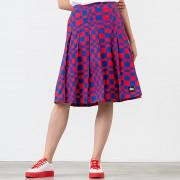 Stüssy Sabi Checker Pleated Skirt Red/ Blue