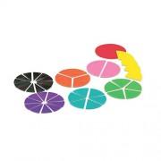 ETA Hand2Mind Deluxe Rainbow Fraction Circles