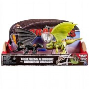 Spin Master Dragons - Action Game Set Hiccup, Toothless & Armored Dragon