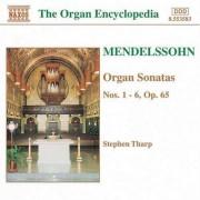 F. Mendelssohn-Bartholdy - Organ Sonatas Nos. 1-6 (0730099458320) (1 CD)