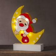 Freddy Santa in the Moon LED decorative light