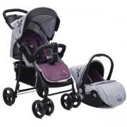 Детска комбинирана количка 2 в 1 - Lea, Cangaroo, Лилава, 356289