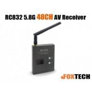 Receptor video FPV RC832 5.8 GHz