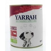 Yarrah Hond brok rund in saus 820g