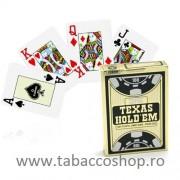 Carti de joc Juego Copag Texas Gold Black