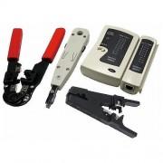 Trusa scule retelistica, 4 piese, LOGILINK WZ0012