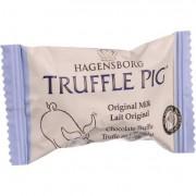 Hagensborg Truffle Piglets Bites - Original Milk Chocolate - .4 oz - Case of 60