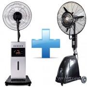 WELLIMPEX HyperCool és WELLIMPEX 1611 kültéri+beltéri párásító ventilátor