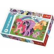 Puzzle clasic copii - Curcubeul prieteniei My Little Pony
