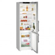 GARANTIE 4 ANI Combina frigorifica Liebherr, clasa A++, congelator SmartFrost, usi inox SmartSteel CUef 4015