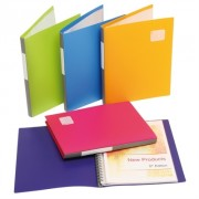 MARBIG PRO SERIES DISPLAY BOOK REFILLABLE A4 SUMMER COLOURS