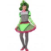 Vegaoo.es Disfraz monstruo verde niña Halloween - 10-12 años(145-160 cm)
