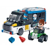 BanBao Police Van Building Kit (325 Piece)