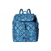Vera Bradley Drawstring Backpack Cuban Tiles