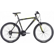 "Bicicleta MTB Leader Fox Evolution 2015, Cadru 16"", Roti 26"" (Gri)"