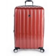 Delsey Paris Solid Hard Body Expandable Check-in Luggage - 32 inch(Red)