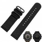 Smart Watchband 24mm For Suunto TRAVERSE Quality Nato Nylon Watch band 3 Ring Strap With Steel Buckle