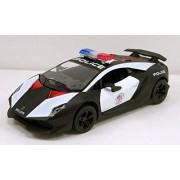 Kinsmart Lamborghini Sesto Elemento Police Car